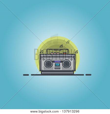 boombox, box ,carrying ,stereo, style,media, mono, music,electronic