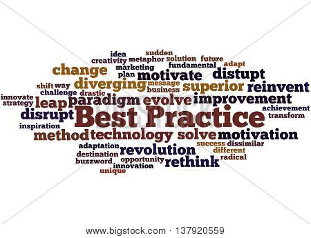 Best Practice, Word Cloud Concept 3