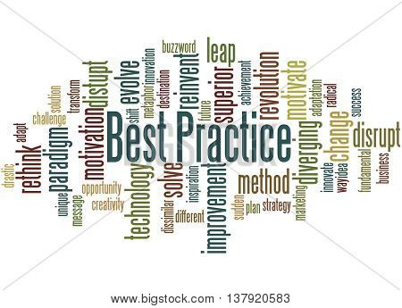 Best Practice, Word Cloud Concept 4