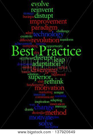 Best Practice, Word Cloud Concept 7