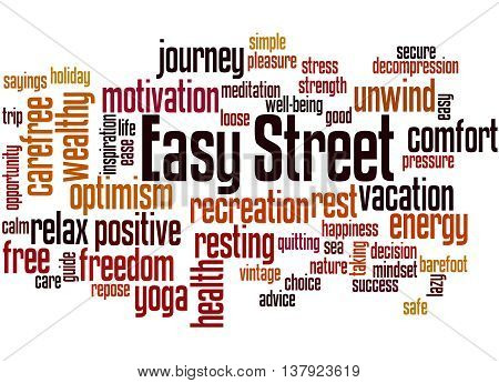 Easy Street, Word Cloud Concept 9