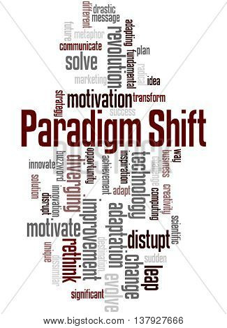Paradigm Shift, Word Cloud Concept 5