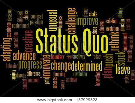 Status Quo, Word Cloud Concept 3