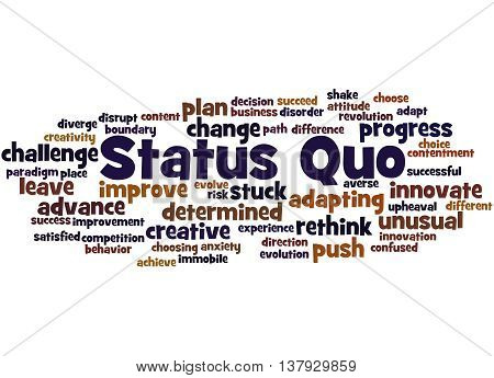 Status Quo, Word Cloud Concept 6