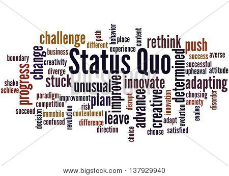 Status Quo, Word Cloud Concept 9