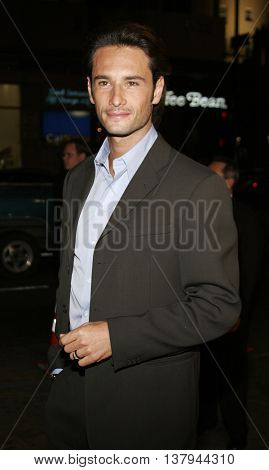 Rodrigo Santoro at the Los Angeles premiere of '300' held at the Grauman's Chinese in Hollywood, USA on March 5, 2007.