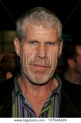 Ron Perlman at the Los Angeles premiere of '300' held at the Grauman's Chinese in Hollywood, USA on March 5, 2007.
