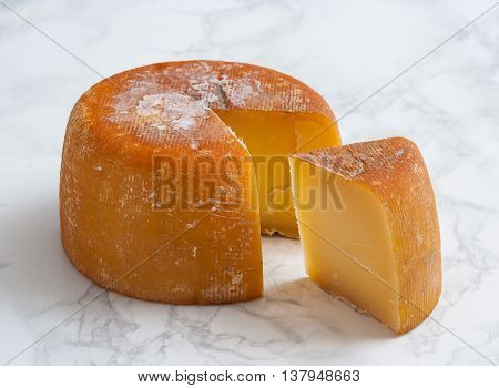 Ahumado de Aliva is a smoked cheese produced in the area of Aliva Cantabria Spain.