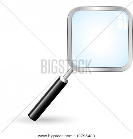 Search icon. Vector illustration.