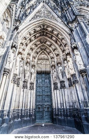Holiday in Germany - The heritage Cologne Cathedral