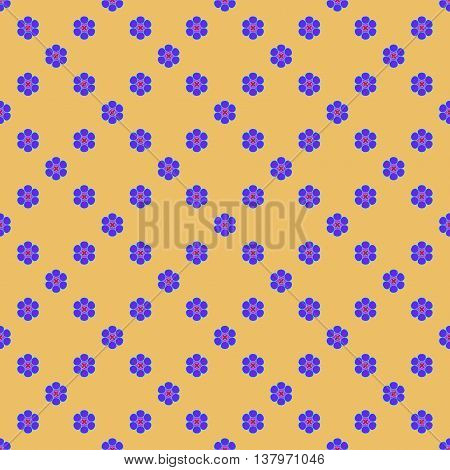Flowers geometric seamless pattern. Fashion graphic background design. Modern stylish abstract texture. Colorful template 4 prints textiles wrapping wallpaper website etc Stock VECTOR illustration