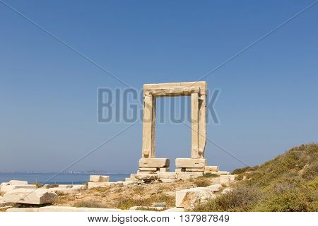 Portara Naxos, Temple Of Apollo