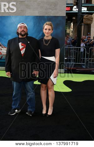 LOS ANGELES - JUL 9:  Kevin Smith, Harley Quinn Smith at the Ghostbusters Premiere at the TCL Chinese Theater IMAX on July 9, 2016 in Los Angeles, CA