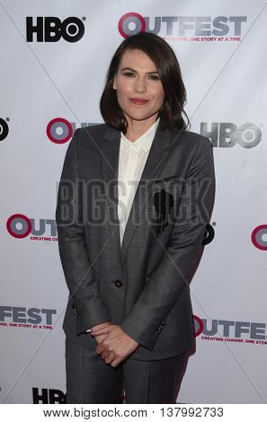 LOS ANGELES - JUL 7:  Clea DuVall at the 2016 Outfest Los Angeles LGBT Film Festival Opening Night Gala at the Orpheum Theatre on July 7, 2016 in Los Angeles, CA