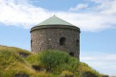 Bohus Fortress in Kungälv, Nordic historic site, more than 700 years old, unsuccessfully besieged several times poster
