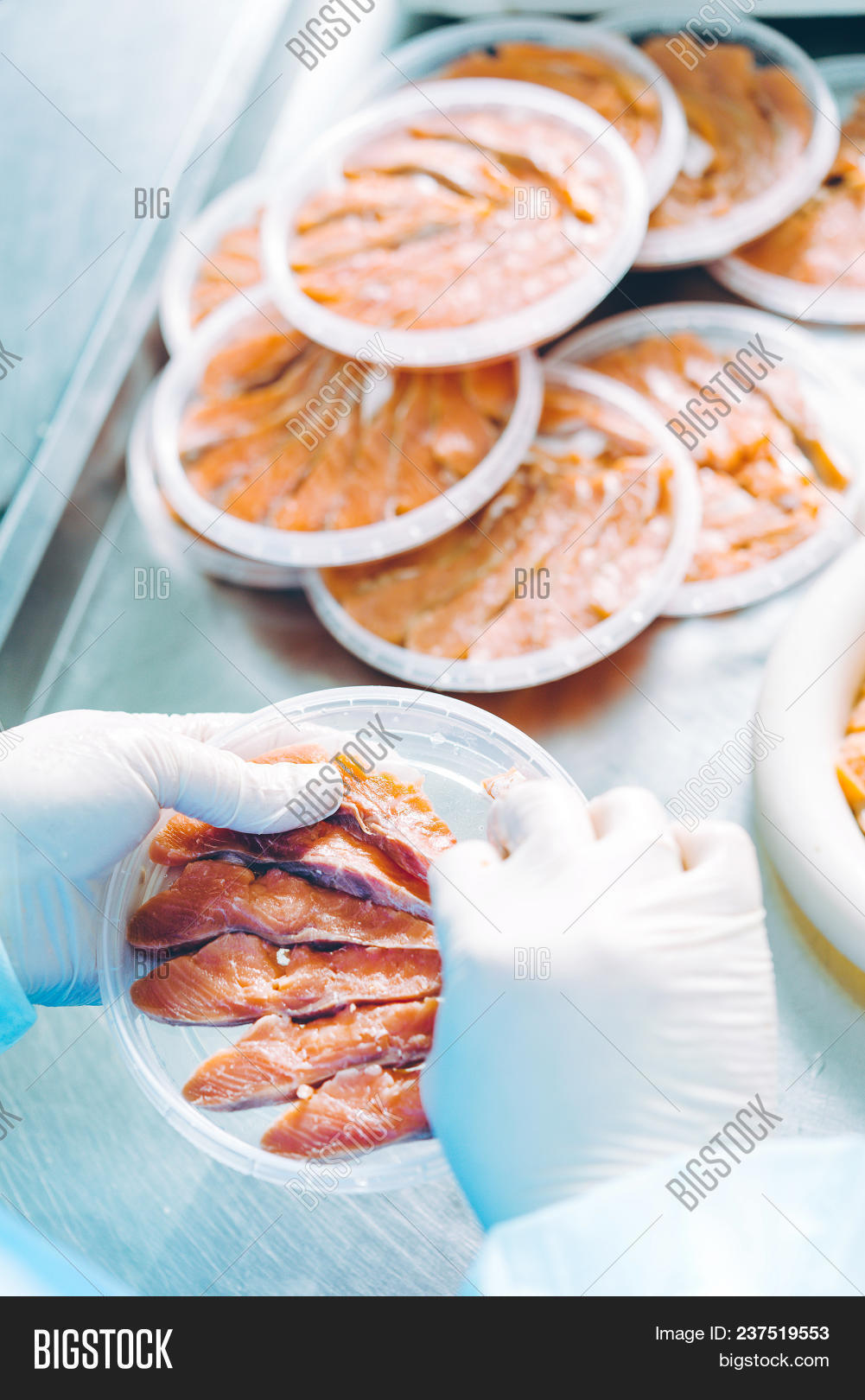 Fish Seafood Factory Image & Photo ...
