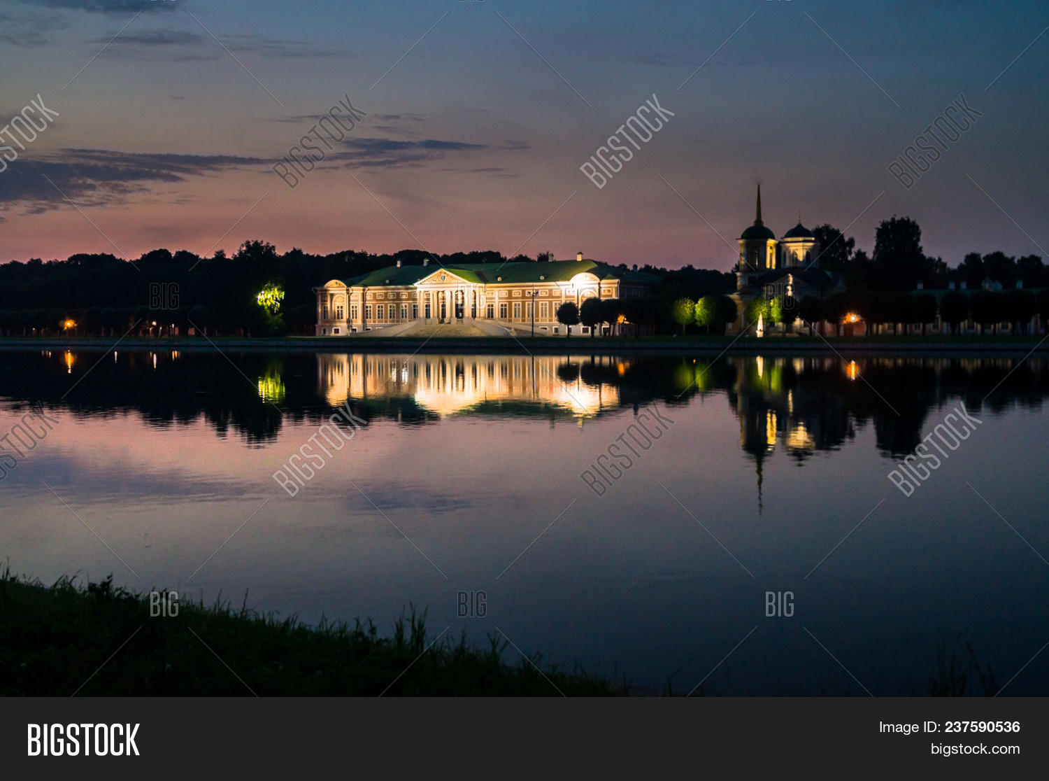 Night View Through Image & Photo (Free Trial) | Bigstock