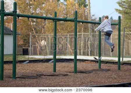 Female Swinging