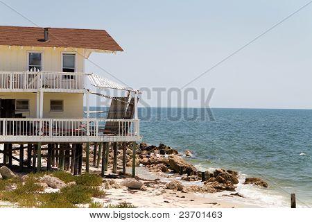 House Beach Erosion