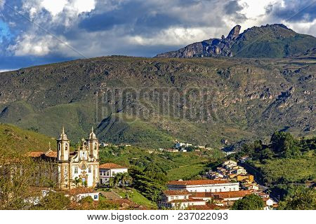 View Of One Of Several Churches And Your Towers In Baroque And Colonial Architecture Of The City Of