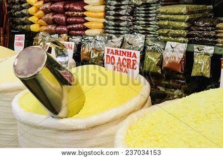 Store That Sells Bulk Flour At Mercadao Municipal