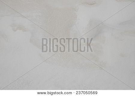 White Coral Sand Beach Texture. Tropical Beach Photo Background. Exotic Island Sandy Beach Texture.