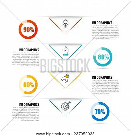 Timeline. Infographic Design Template. Business Concept. Vector Illustration