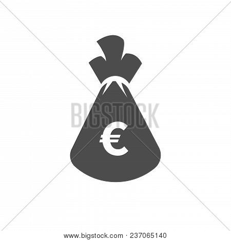 Money Euro Bag Flat Vector Photo Free Trial Bigstock