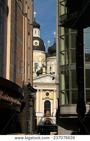 St. Vladimir's Cathedral In Saint Petersburg