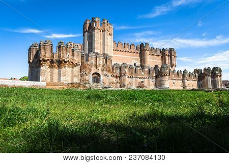 Coca Castle (castillo De Coca) Is A Fortification Constructed In The 15th Century And Is Located In