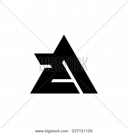 2a Letter Logo Design Vector Illustration Template, 2a Letter Logo Vector, Letter F Logo Vector, Cre
