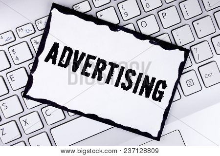 Conceptual Hand Writing Showing Advertising. Business Photo Showcasing Reach Out World Branding With