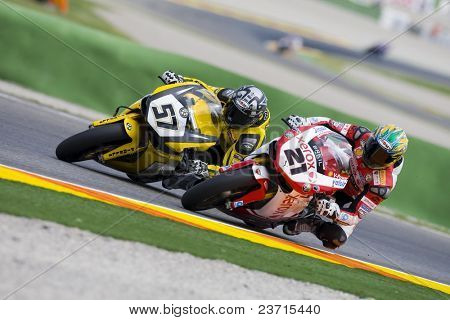 SBK Campeonato del Mundo de Superbikes - Spanish Round - Valencia 2008 en el Circuito Ricardo Tormo de Cheste - Lorenzo Lanzi, Troy Bayliss