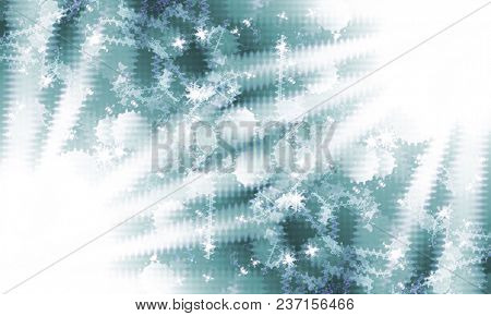 gray abstract background with music notes and stars