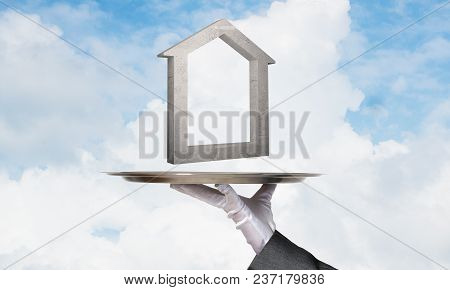 Real Estate Rent And Purchasing Concepts.