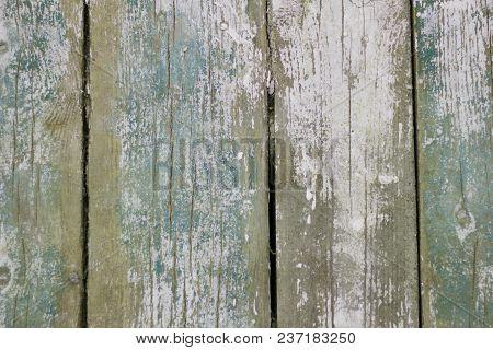 Wooden Background, Old Wooden Floor, Log Boards Background Back Old Paint