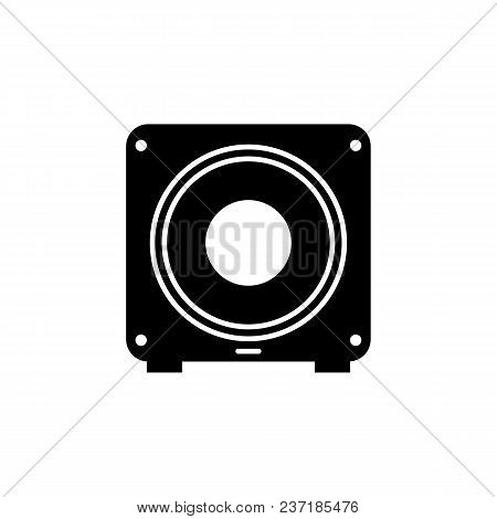 Subwoofer Icon. Element Of Music Icon. Premium Quality Graphic Design Icon. Signs And Symbols Collec