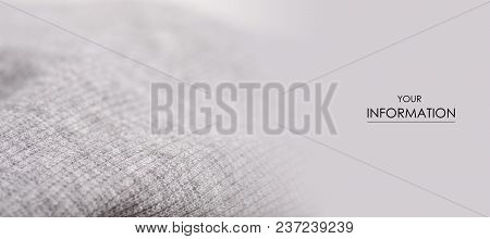 Gray Fabric Clothing Texture Textile Fabric Macro Pattern Background