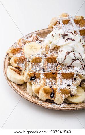 Sugar Waffles Product Photo