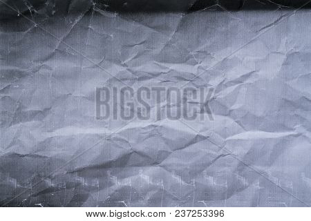 Photocopy Crumpled Texture And Background, Close Up