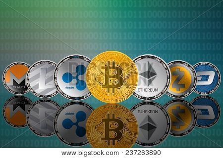 Popular Cryptocurrency Coins - Bitcoin (btc), Litecoin (ltc), Ethereum (eth), Monero (xmr), Zcash (z