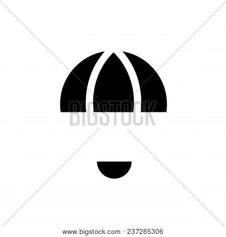 Simple Parachute Symbols, Vector Illustration, Logo Design