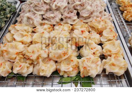 Steamed Dumpling Stuffed With Bamboo Shoot Delicious