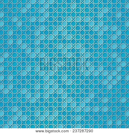 Girih Pattern. Beautiful Arabic Design Template With Arabic Pattern. Abstract Vector Design
