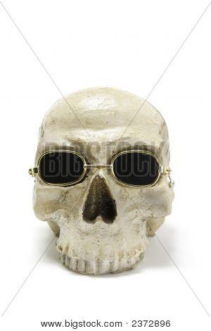 Skull With Sunglasses