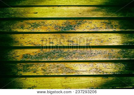 Wooden Bench Plank Texture For Web Site Or Mobile Devices, Design Element.