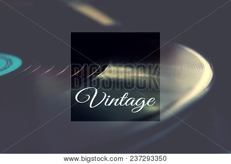 Vinyl For Gramophone 50s 60s 70s 80s Retro Old Background Wallpaper Vintage Style Melody Nostalgia G