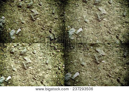 Ground Texture, Sand Surface, Stone Background, Good For Design Elements.