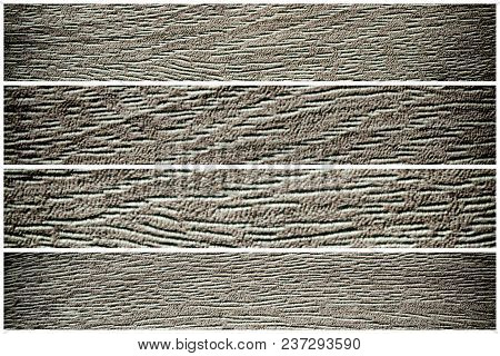 Wooden Surface For Design Mock-up Cracked Texture Or Dark Paper Background.
