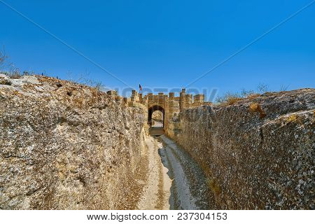 Main Entrance To The Ovech Fortress, Bulgaria